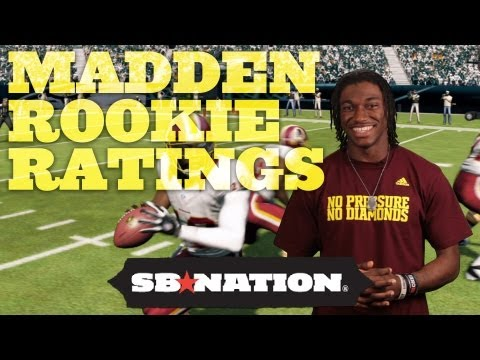 Madden NFL 13: NFL Rookies Review and Predict Their Player Ratings, Are Way Off