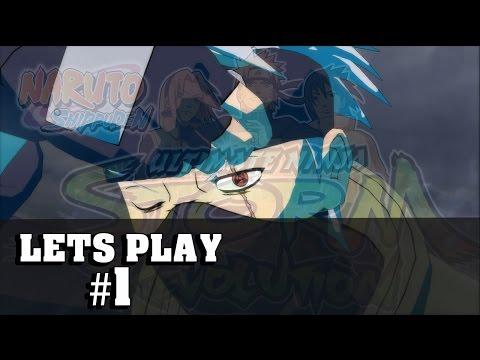 Let's Play Naruto Storm Revolution | Ninja World Tournament #1