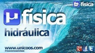 FISICA Hidraulica Caudal Volumetrico BACHILLERATO