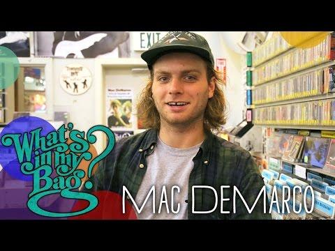 Mac DeMarco - What's In My Bag?