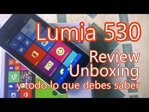 Nokia Lumia 530 - Review. unboxing y análisis. Conoce todo lo que debes saber