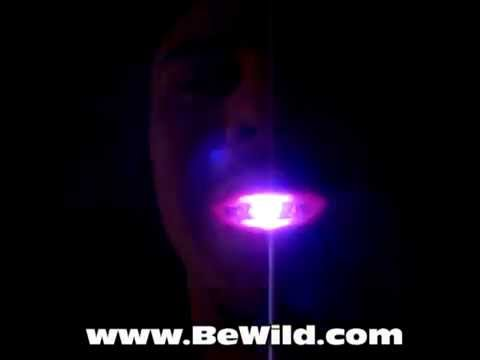 Flashing LED Raver Mouth By BeWild