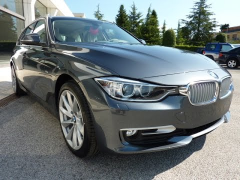 Bmw 316 d touring modern line business youtube for Bmw modern line
