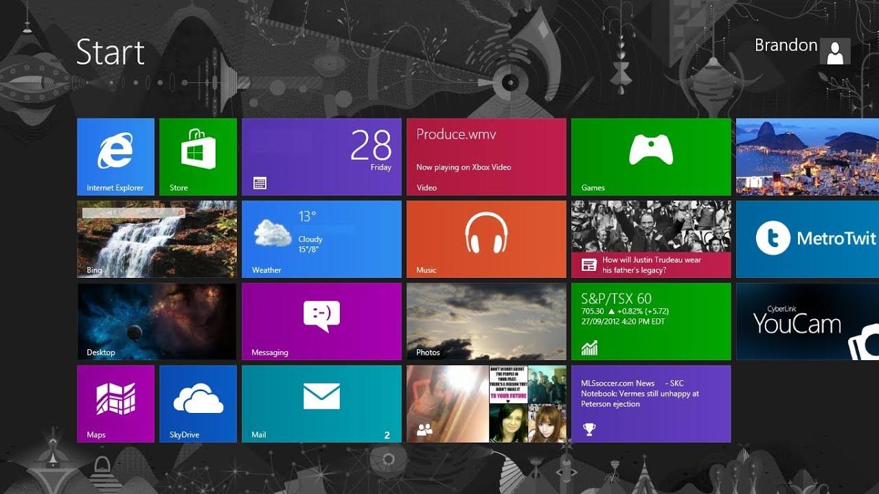 how to change windows 8 desktop background modern ui