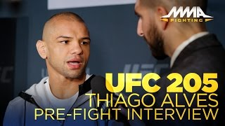 UFC 205: Thiago Alves discusses why he's no longer working with Mike Dolce