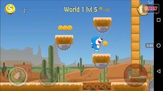 Trò chơi Doremon vượt chướng ngại vật chạy lụm vàng cu lỳ chơi game Doraemon lồng tiếng vui nhộn