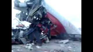спасение экипажа ту-204/ plane crash at Vnukovo TU-204 salvage crew