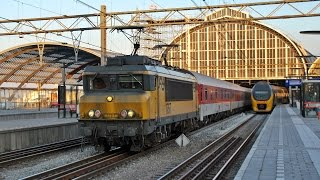 Trenes de viajeros y mercancías en Holanda--Trains of passengers and goods in the Netherlands