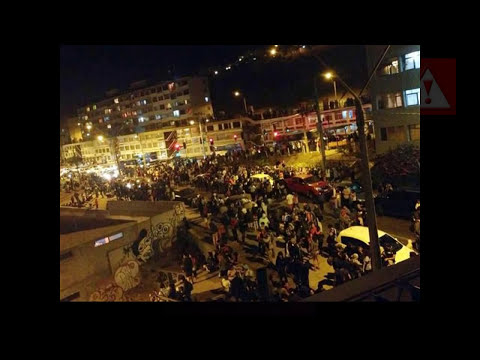 Brutal Terremoto Chile 7.8 en Vivo. Recopilación 02 de Abril de 2014.