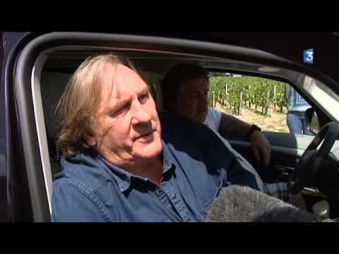 Video:  interview de Gerard Depardieu version longue