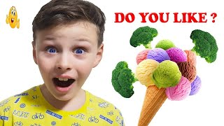 Do You Like Broccoli Ice Cream? Super Simple Songs HD 2018 Vlad