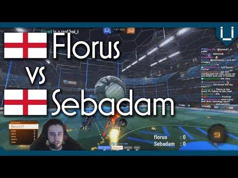 Luckiest Respawn in RL History | Florus vs Sebadam | Rocket League 1v1