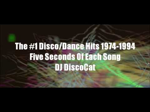 The Billboard #1 Disco Dance Hits 1974 to 1994 Five Seconds of Each Song