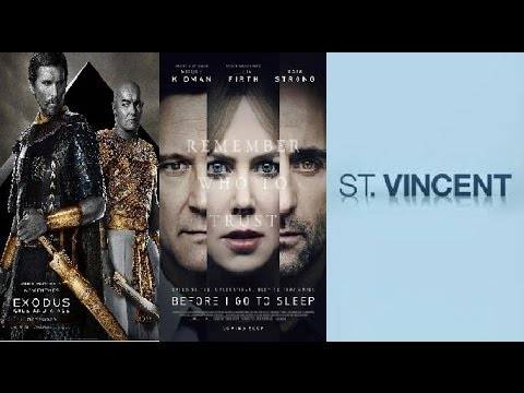 Trailer Thursdays: Exodus: Gods and Kings, Before I Go to Sleep, St. Vincent