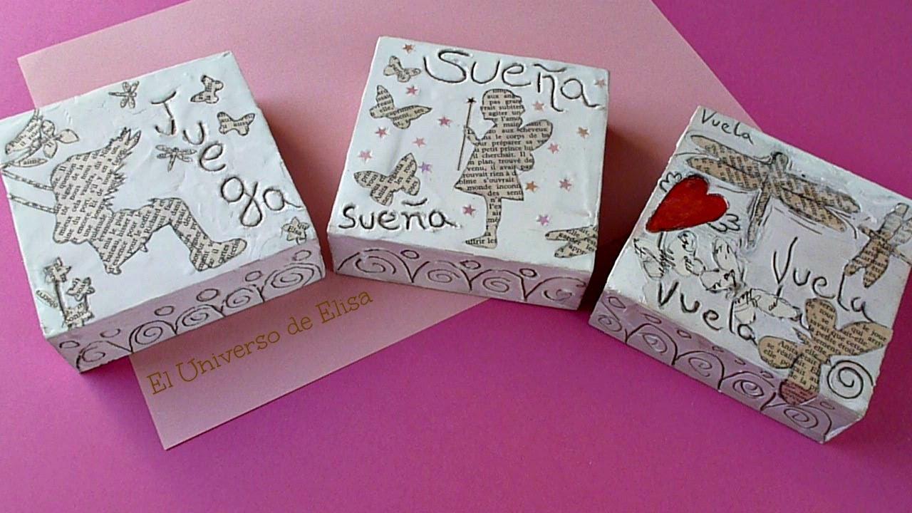C mo decorar con siluetas de papel triptico con texturas for Ideas para decorar antejardin