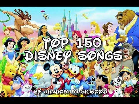 Top 150 disney songs