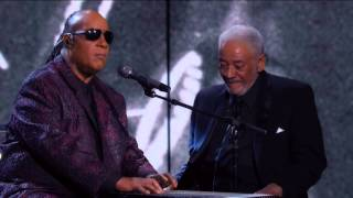 Bill Withers Stevie Wonder Aint No Sunshine Rock Roll Hall Of