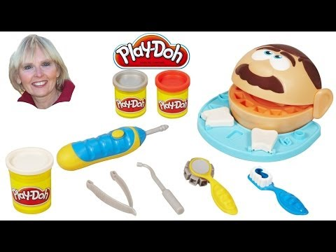 ♥♥ Play-Doh Doctor Drill 'N Fill