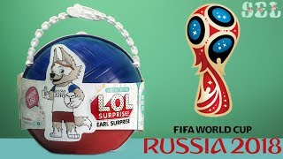 ЛОЛ Сюрприз ЗАБИВАКА LOL Surprise Zabivaka FIFA Russia 2018 Toys