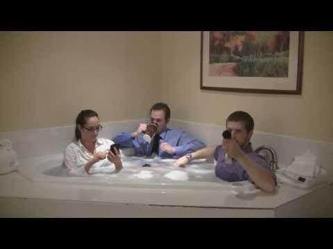 Rub-A-Dub-Dub 3 Hosts In A Tub