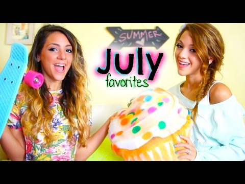 Niki and Gabi's July Favorites: Fashion, Beauty, Random + MEET-UP NEWS!!!