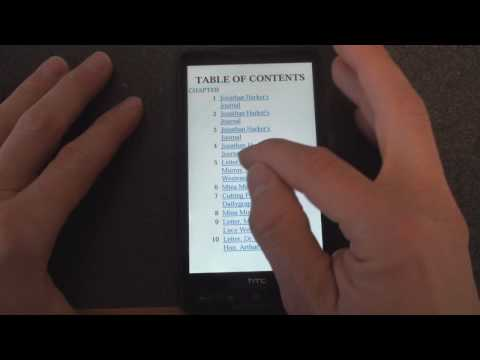 T-Mobile HTC HD2 Adds eReader Tab