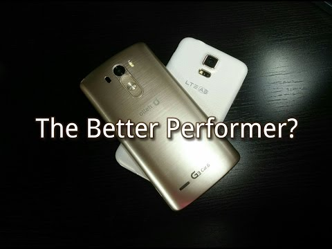 LG G3 vs Galaxy S5 (S805 Primes)