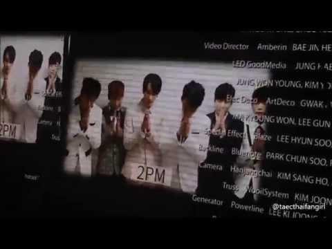 "141213 ""2PM ENDING CREDIT"" (SPEAK THAI) - JYPNATION IN BANGKOK 2014 (2PM)"