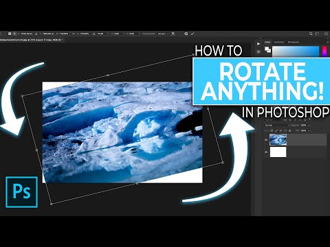How To Rotate Images And Layers In Photoshop