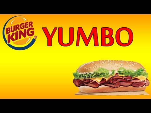 ♦ BurgerKing YUMBO ♦ The Fast Food Review