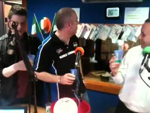 The Listerine Mouthwash Challenge on Dundalk FM 8-6-12