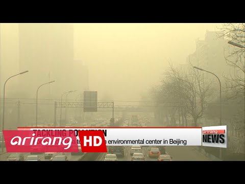Korea and China to establish environmental center in Beijing