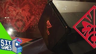 HP Omen Accelerator Shell | Milan Games Week