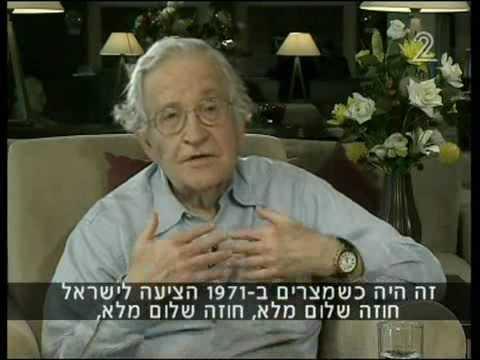 נועם חומסקי בריאיון מיוחד Noam Chomsky