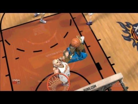 NBA 2K14 - Mavericks vs Suns Gameplay (PS3)