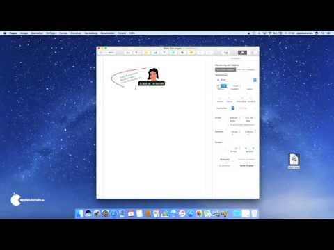 iWork für Mac OS - Mit Pages für Mac einen Briefkopf / Logo erstellen