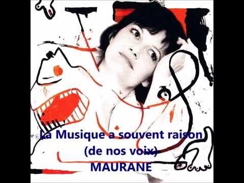 Maurane - La musique a souvent raison