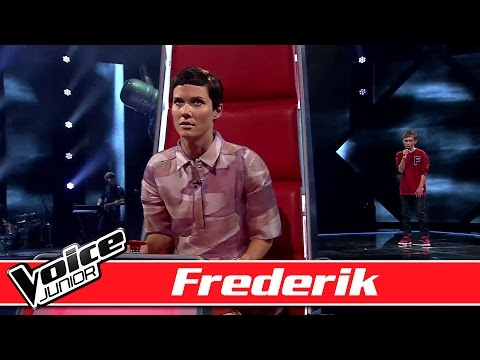 Frederik synger 'I Knew You Were Trouble'  - Voice Junior Danmark - Program 2 - Sæson 2