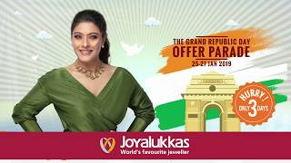 Joyalukkas - The Grand Republic Day Offer Parade!