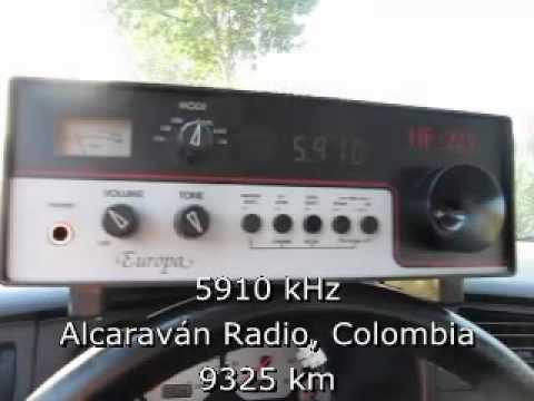 Latin American Shortwave DX after Sunrise
