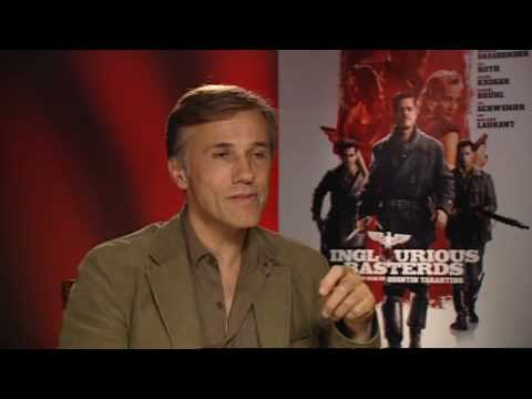 Christoph Waltz talks Inglourious Basterds