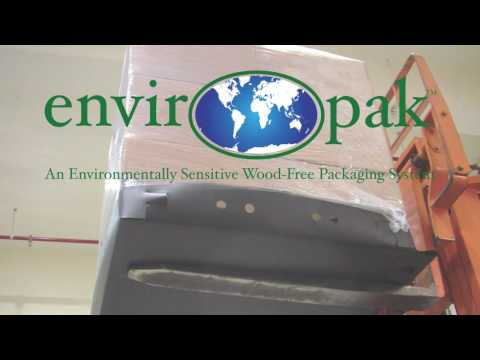 envirOpak SLIP-TRAY Pallet Packing & Loading of Natural Rubber