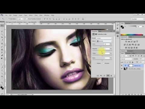 PS Обработка цвета с помощью Selective Color