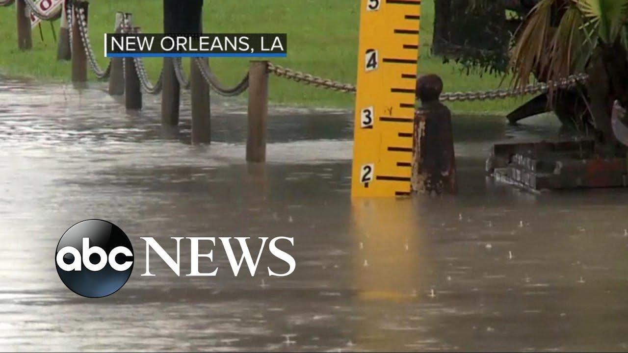 Tropical storm Harvey to slam Louisiana next