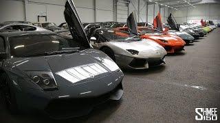 What an Epic Car Garage! Plus AMG Beast...
