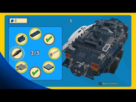 ALL 15 Golden Instruction Builds Gameplay Showcase - The LEGO Movie Videogame