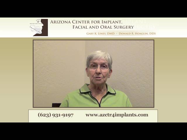 "Dental Implants Phoenix - ""You don't have to be afraid!"""