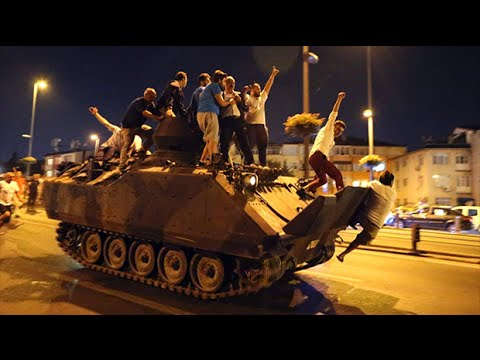 Turkey coup: How events unfolded