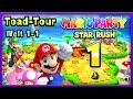 MARIO PARTY: STAR RUSH Part 1: Toad Tour | World 1-1 | Es ma...