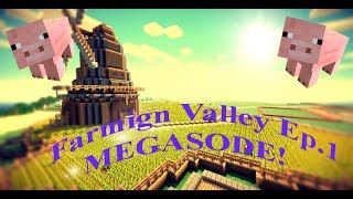 PIGS! PIGS EVERYWHERE! | Farming valley Ep.1 Megasode